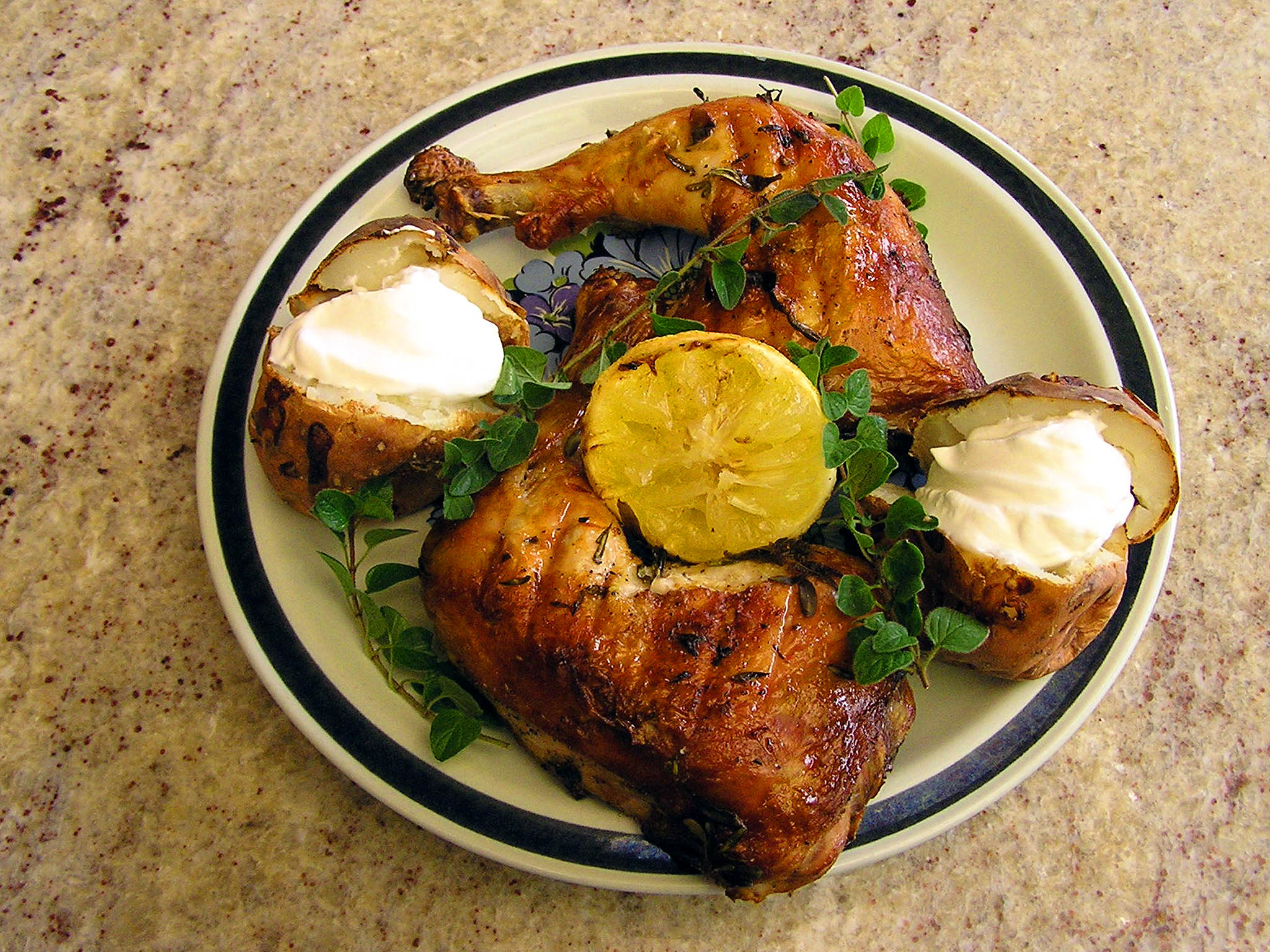 מתכון עוף בלימון
